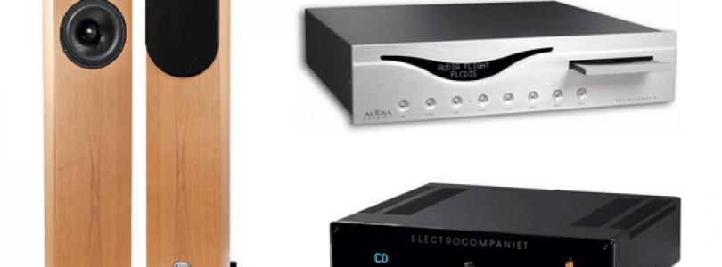Lecteur CD-Dac  Audia Flight FLCD 3 S – Amplificateur Electrocompaniet ECI 6  –  Enceintes Apertura Armonia Evolution