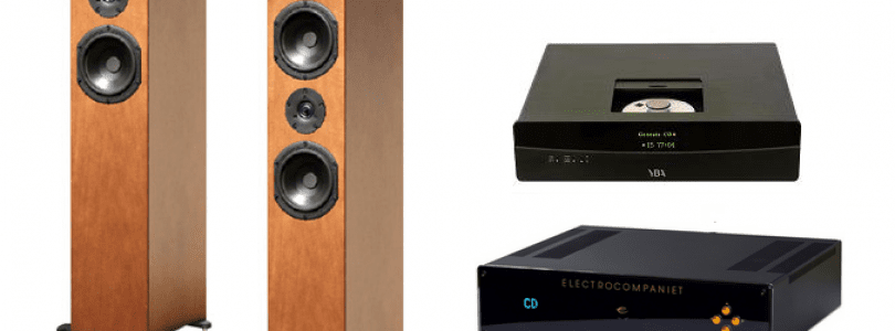 Lecteur YBA Genesis CD 4 – Amplificateur Electrocompaniet ECI 6 –  Enceintes PEL Kantor S3.2