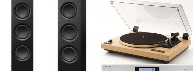 Platine vinyle Thorens TD 240 20 – Cellule AT 100 E – Amplificateur / Dac Rotel A 12 – enceintes KEF Q 550