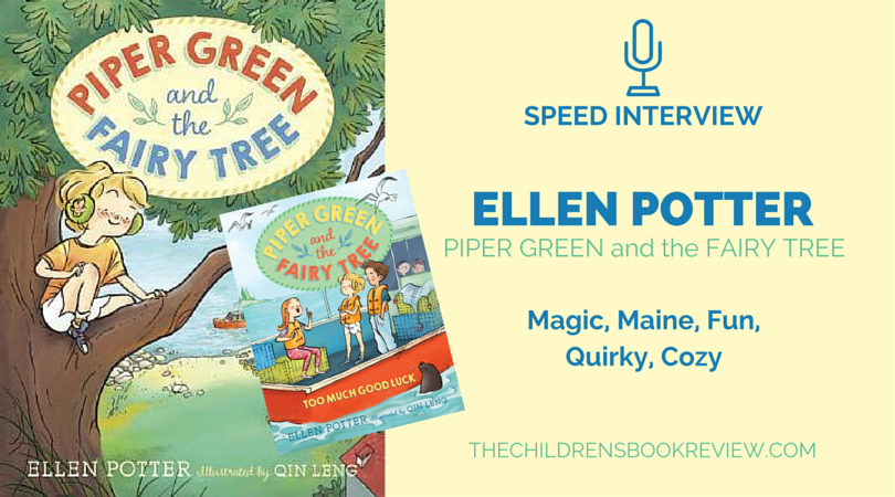 Ellen Potter, Author of the Piper Green Series | Speed Interview-3