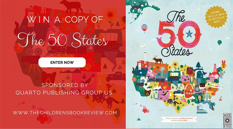 The 50 States: Explore the U.S.A with 50 Fact-Filled Maps | Book Giveaway