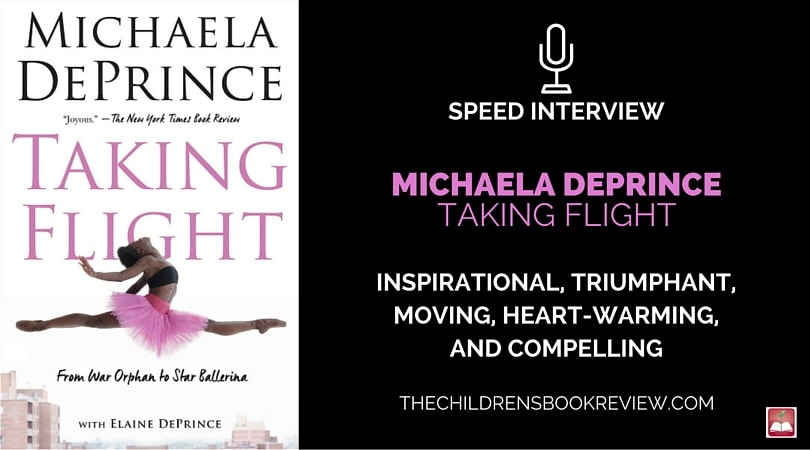 Michaela DePrince, Author of Taking Flight_ From War Orphan to Star Ballerina   Speed Interview