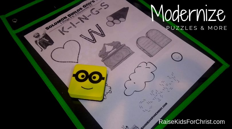 Modernize Puzzles & Story Telling to Engage Kids