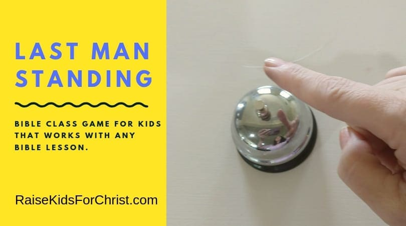 Ring the Bell Sunday School Kids Game for ANY Lesson