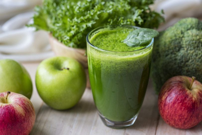 jugos-verdes-para-adelgazar