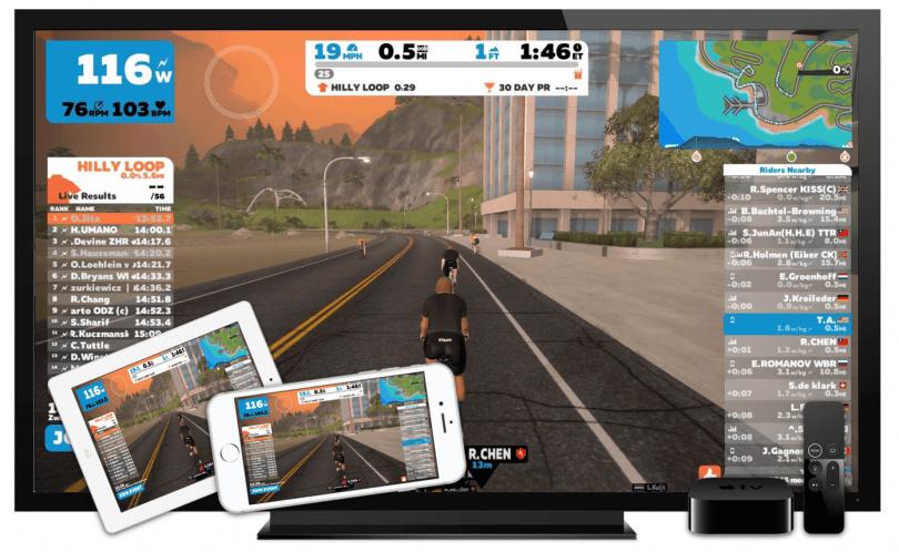 How To Broadcast Zwift From Any Device Onto Your Big Screen TV