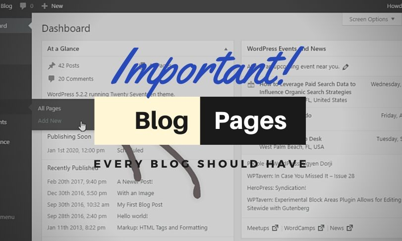 Blog Pages