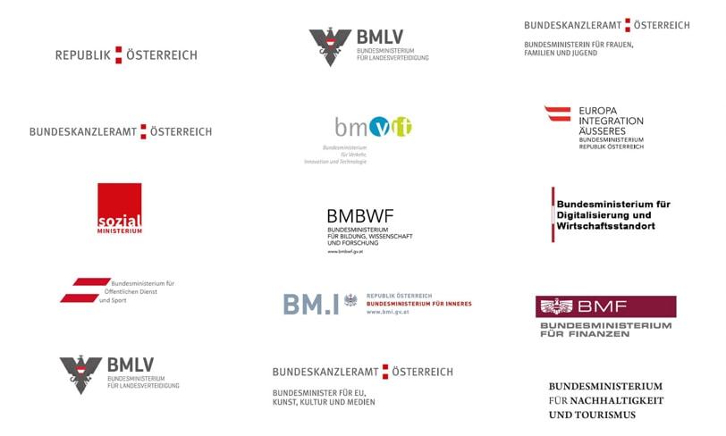 stare logo ministerstw austria
