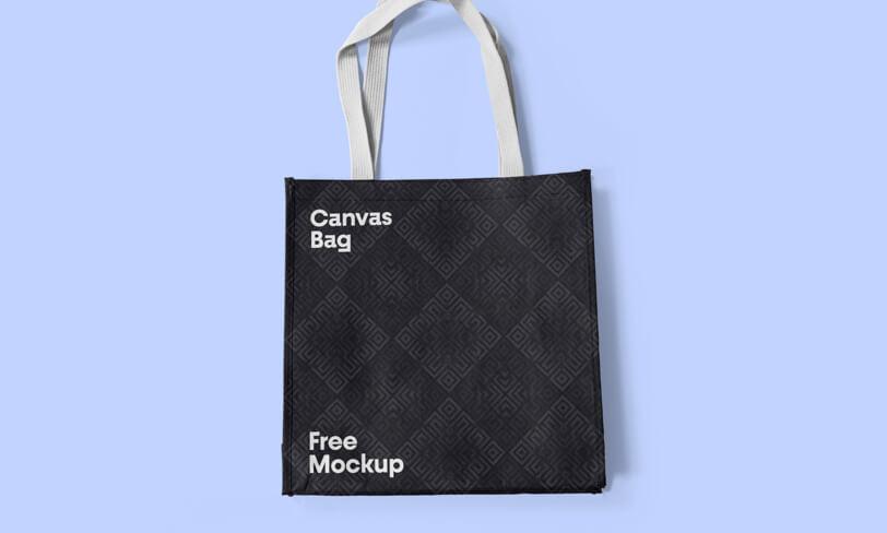 darmowy mockup płóciennej torby