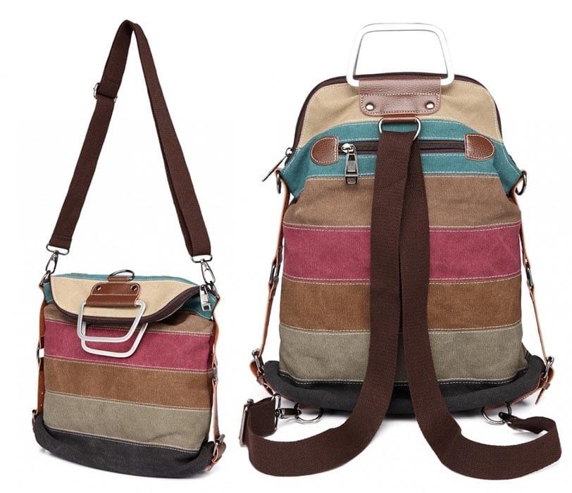 plecak torebka w jednym 2w1