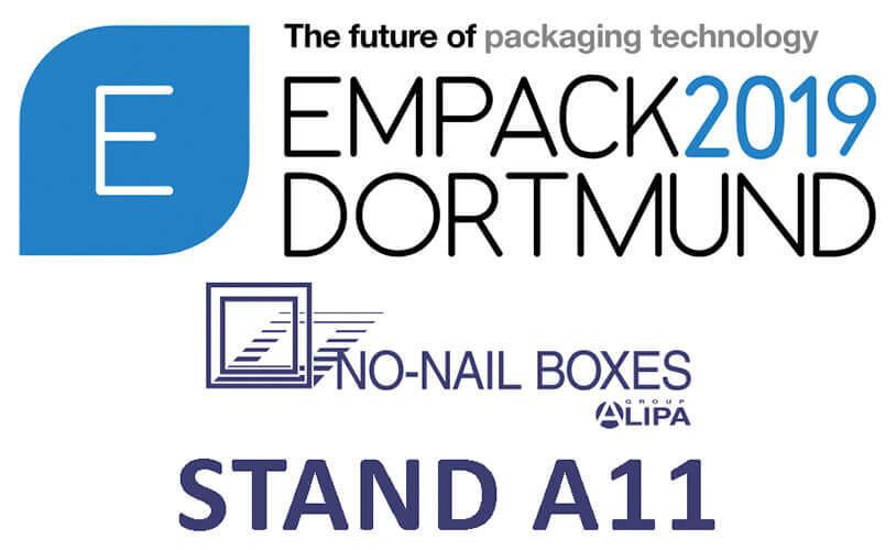 NO-NAIL BOXES op de EMPACK-beurs in Dortmund