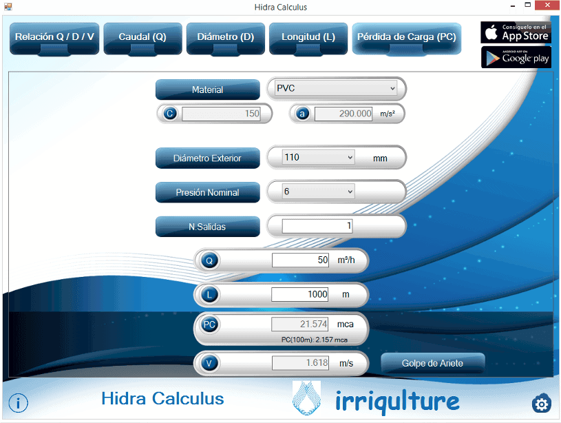 Hidra Calculus para Windows