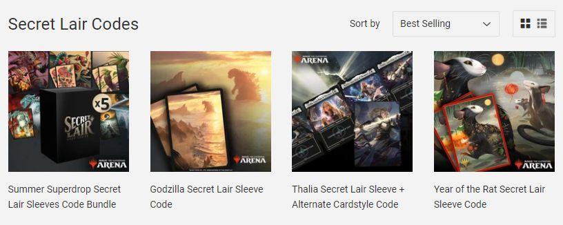 Buy MTG Arena Codes Redeem Secret Lair Gray Viking Games