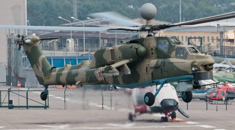 Модернизированный Ми-28НМ представят на форуме «Армия-2018»
