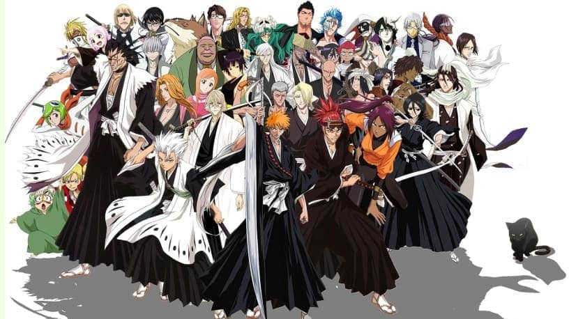 A poster from the Anime 'Bleach'.