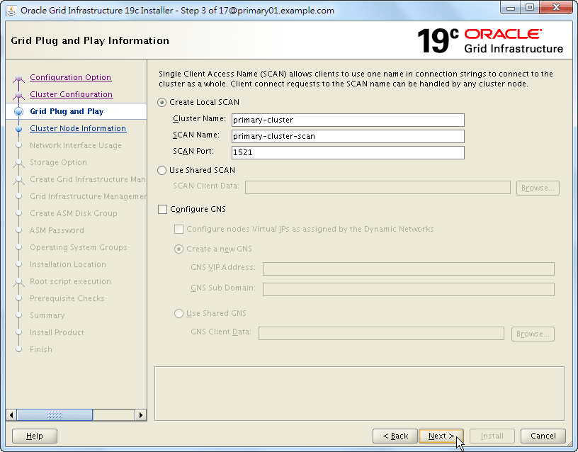 Oracle 19c Grid Infrastructure Installation - 03