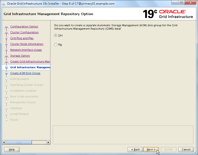 Oracle 19c Grid Infrastructure Installation - 08