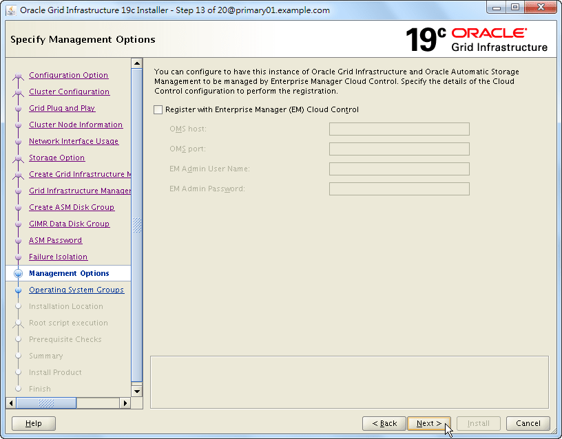 Oracle 19c Grid Infrastructure Installation - 13