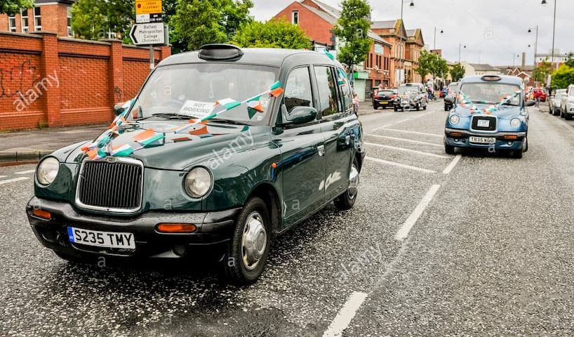 Actualites Taxi taxi Irlande du Nord 0
