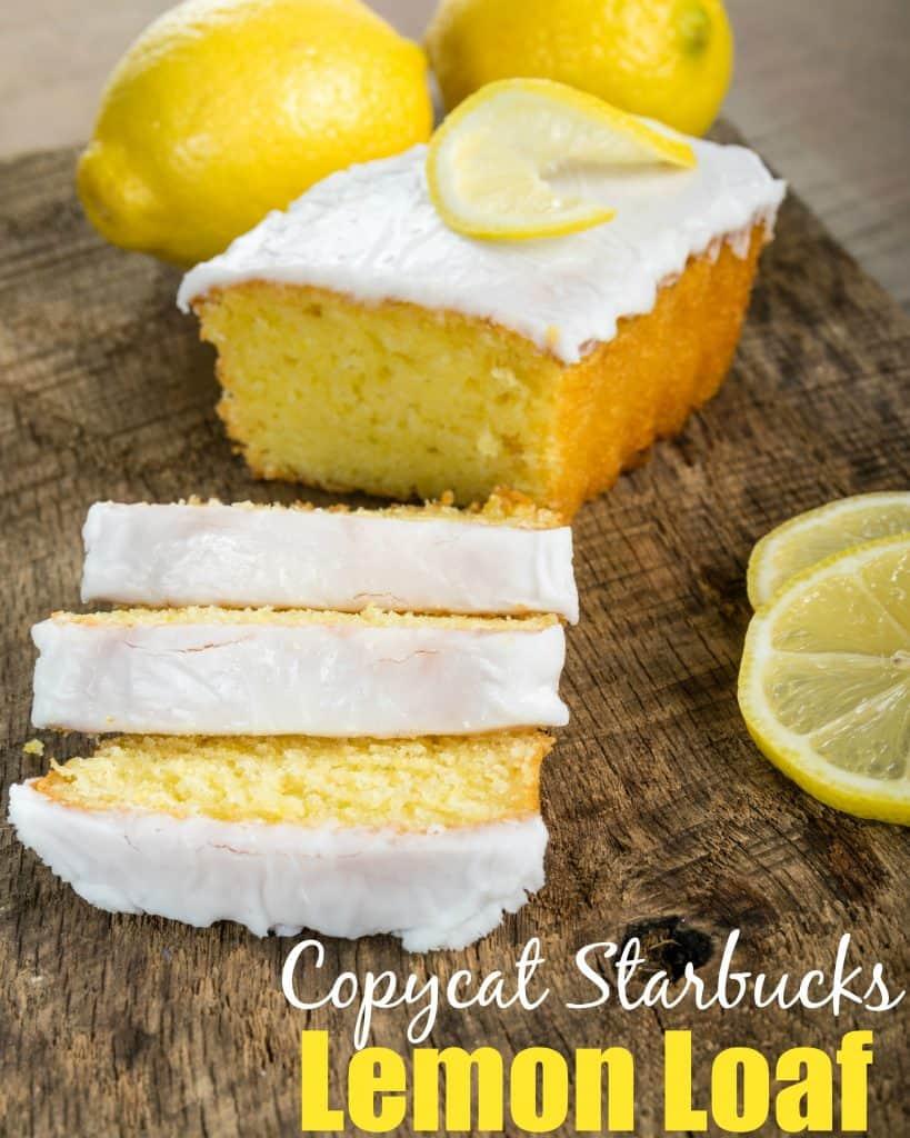 Lemon Loaf Cake Starbucks Calories