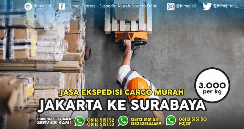 Jasa Ekspedisi Jakarta Surabaya One Day Service