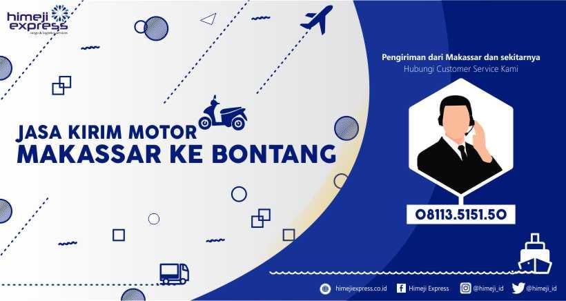 Jasa Kirim Motor Makassar-Bontang yang Murah