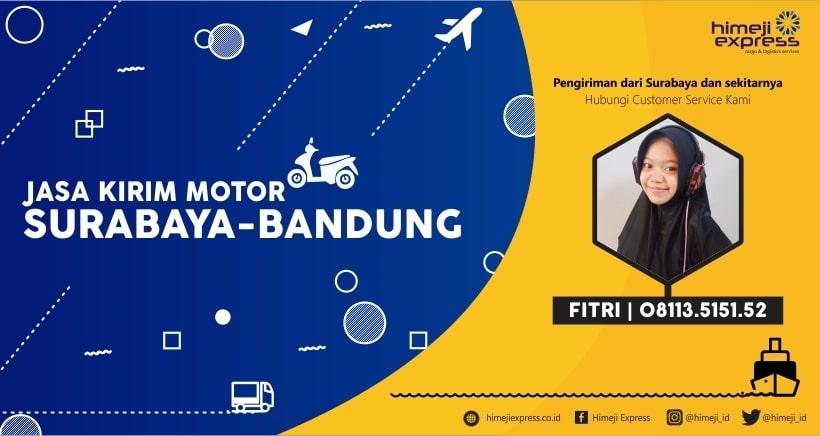 Jasa Pengiriman Motor Surabaya Bandung yang Murah
