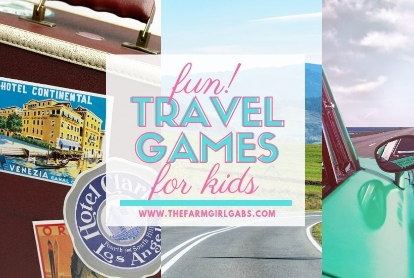 Fun Travel Games for Kids!