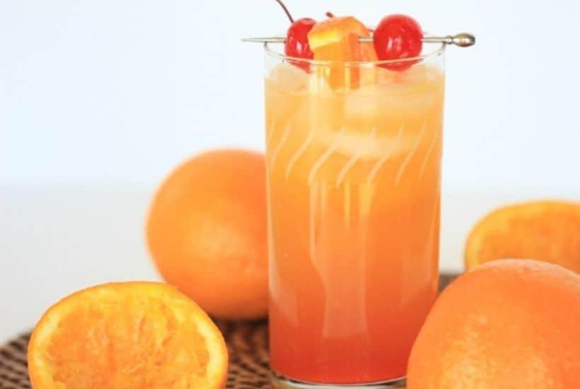Sunrise Spritzer Cocktail