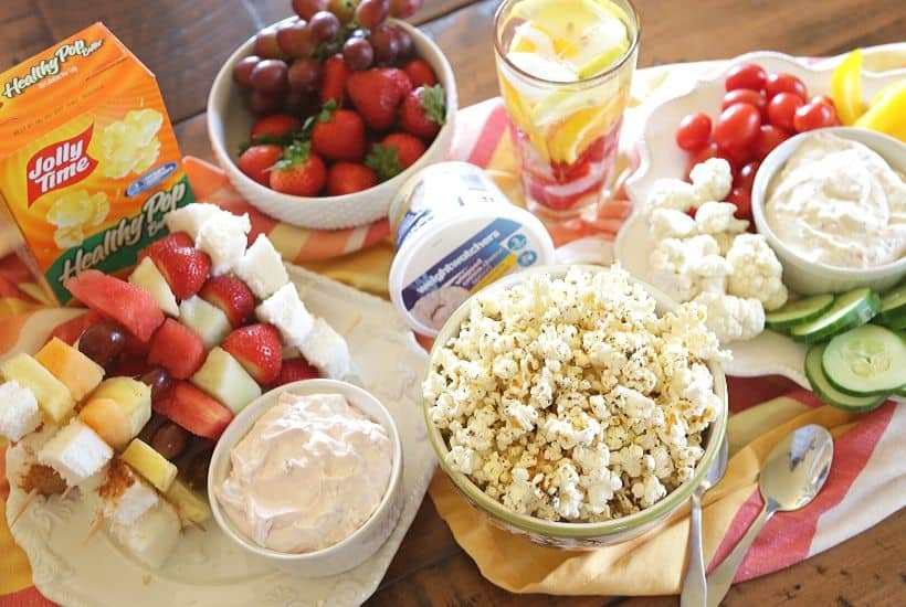 5 Healthy Party Snack Ideas