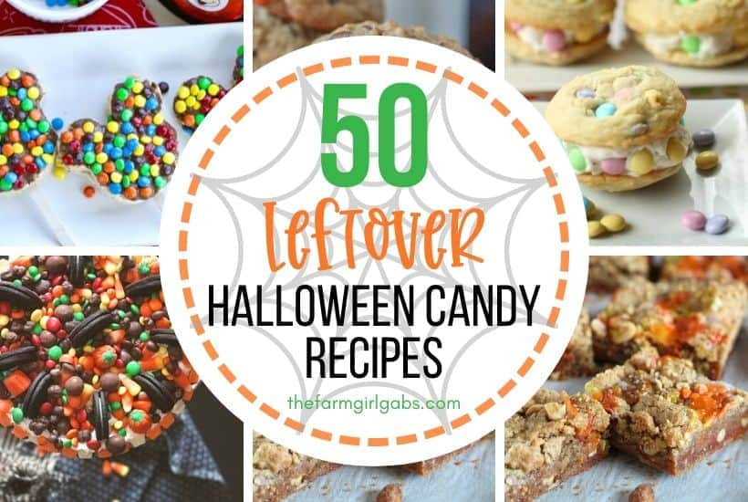 50 Recipes To Make With Leftover Halloween Candy