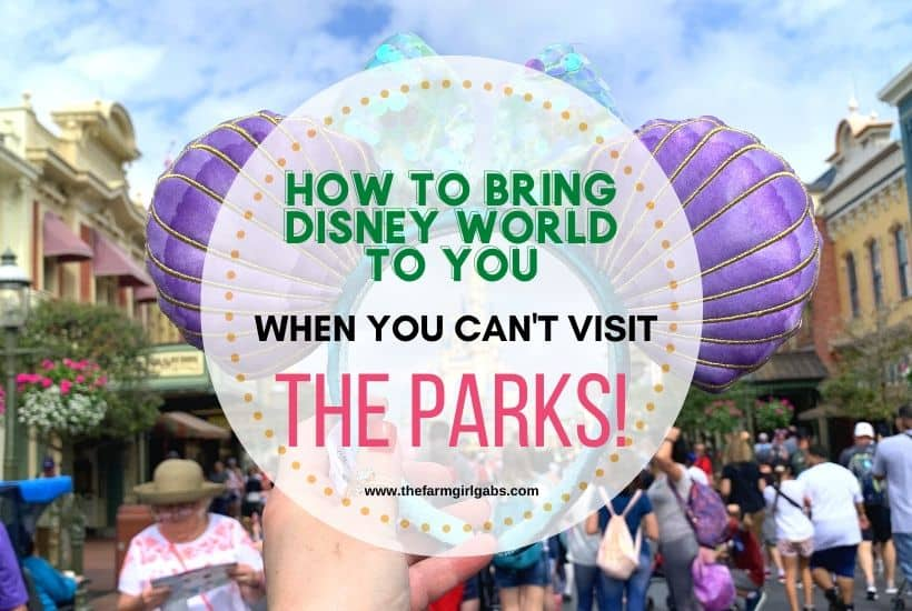 10 Ways To Cure The Disney World Blues When You Can't Visit The Parks