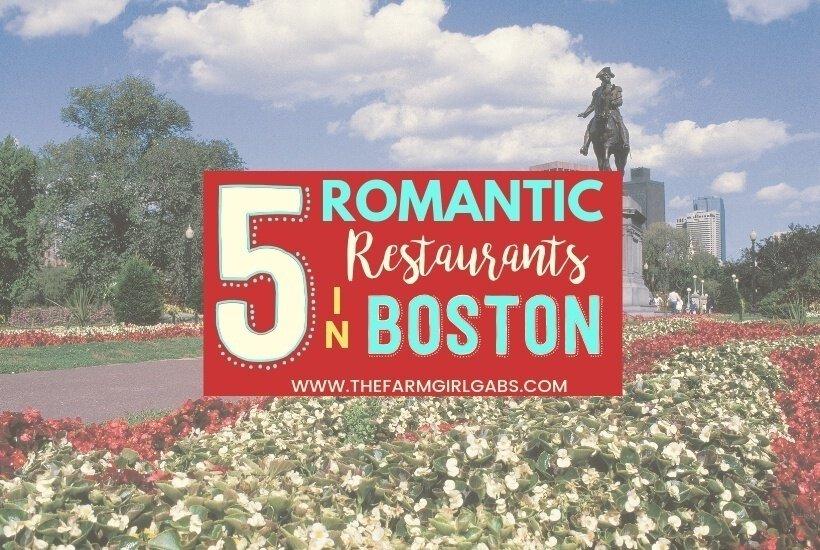5 Unexpectedly Romantic Restaurants in Boston