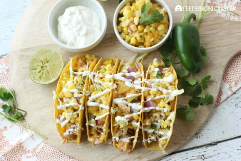 Grilled Pork Tacos With Corn And Mango Salsa