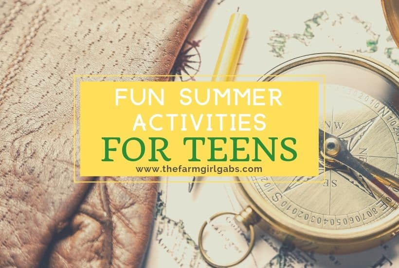 Keep your teenagers busy this summer with some creative activities. The Fun Summer Activities For Teens are great ways to keep them entertained all summer long.