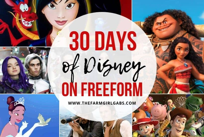 Celebrate 30 Days Of Disney On Freeform This September