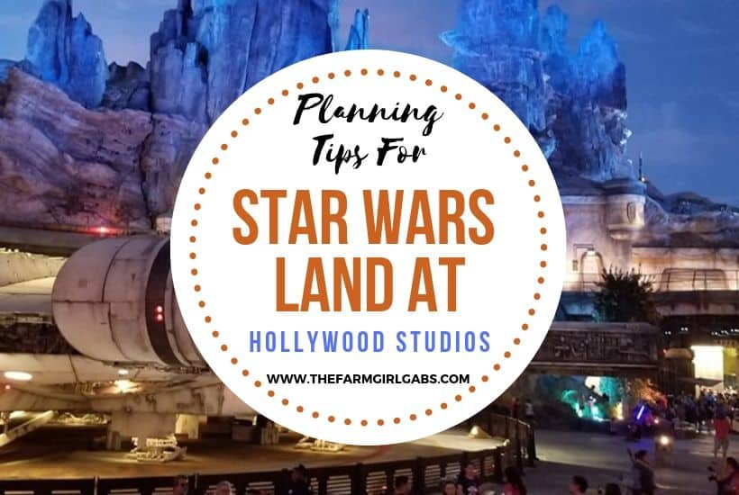 Star Wars Land Planning Info for Hollywood Studios
