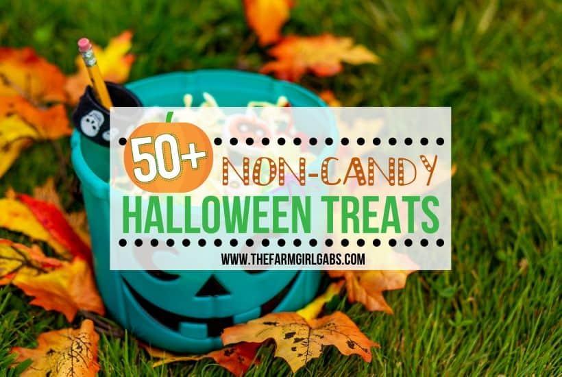50+ Ideas for Non-Candy Halloween Treats