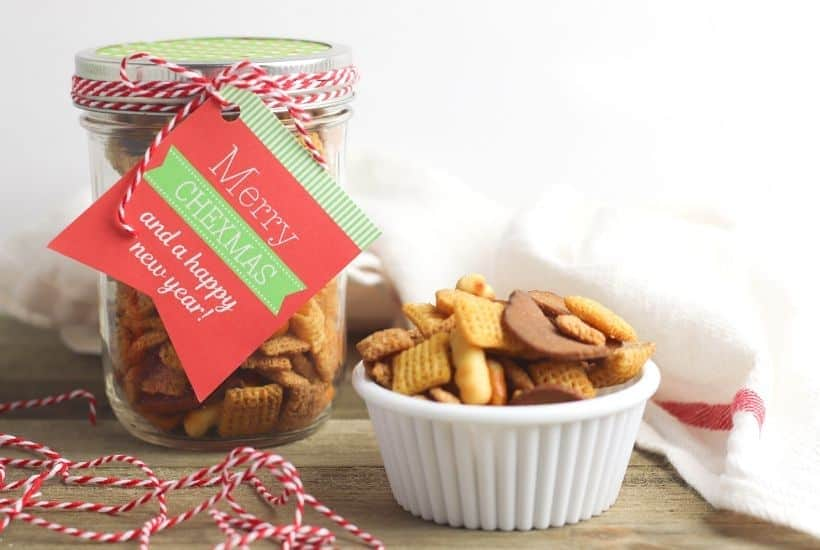 Chex Mix Gift In A Jar