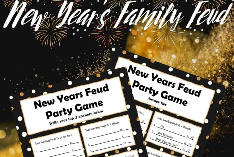 New Year's Family Feud Game