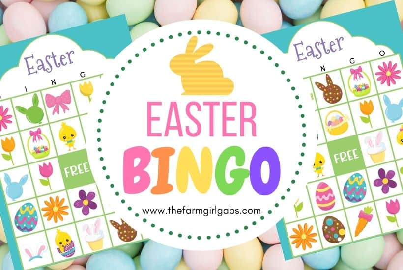 Free Easter Bingo Printable Game Cards