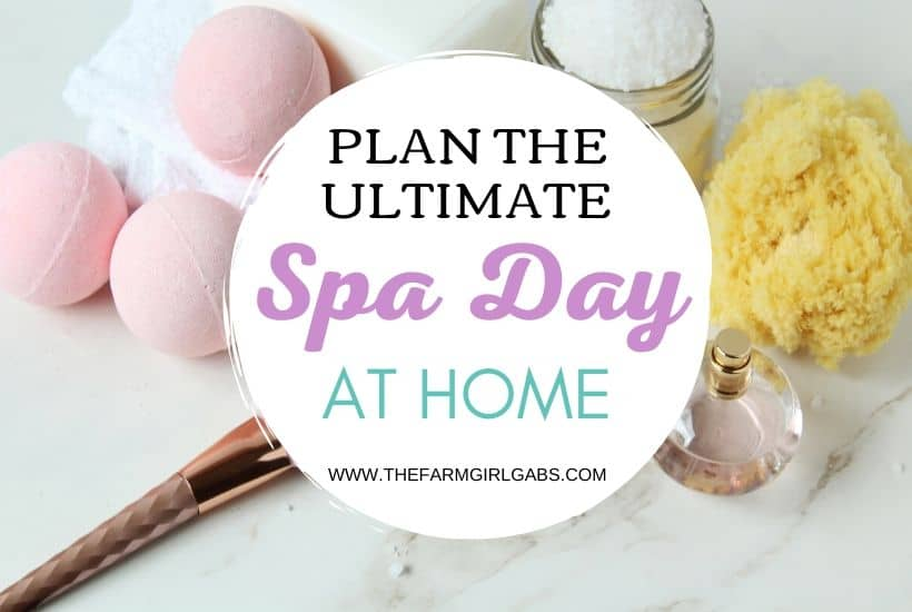 Spa Day at Home for Mother's Day