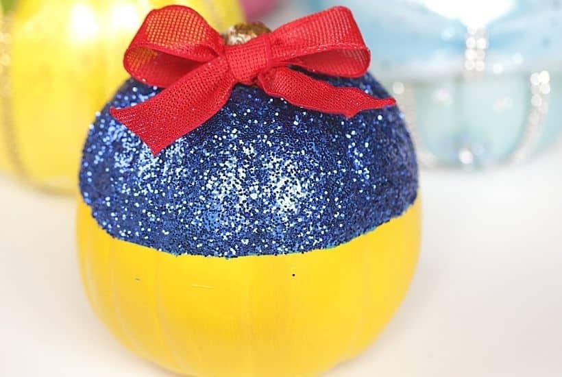 No Carve Disney Snow White Pumpkin