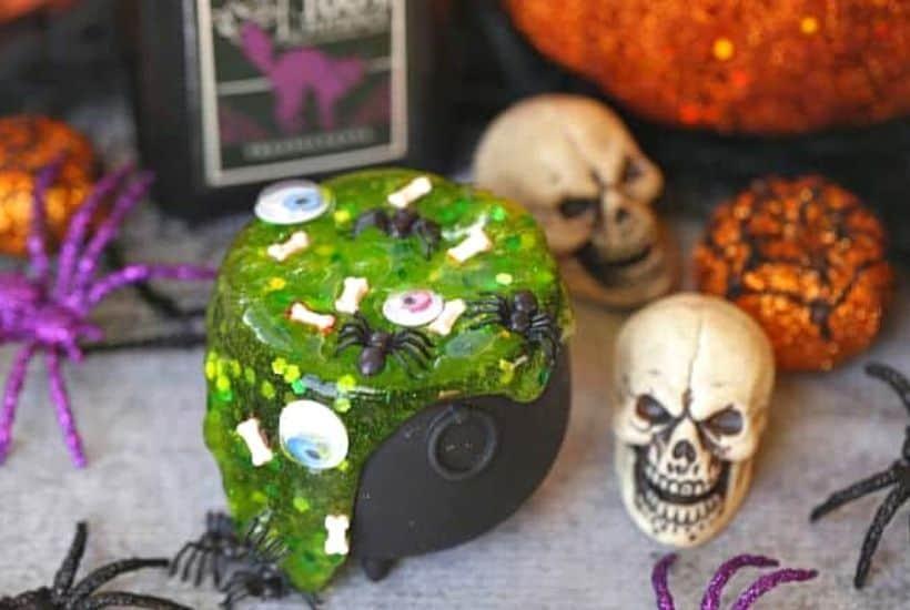 Halloween Cauldron Slime