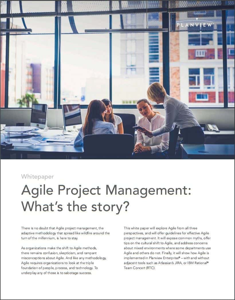 Agile Project Management: What's the story?