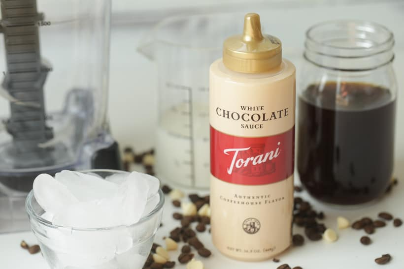 White Chocolate Mocha Frappé