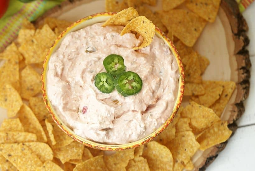 Three cheers for football food! This easy Salsa Dip recipe uses only two ingredients and takes 15 minutes to make…tops! Add this delicious cream cheese dip recipe to your homegating or tailgating menu. It's the perfect game day recipe your family and friends will enjoy. This easy party dip is the real winner. (Ad) Find @PaceSalsa at @Walmart. #EntertainingWithPace #footballfood #gameday #tailgaterecipe #homegating #easypartyidea