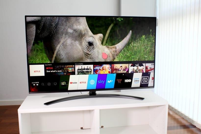 Smart TV WebOS 4.5 LG SM8200