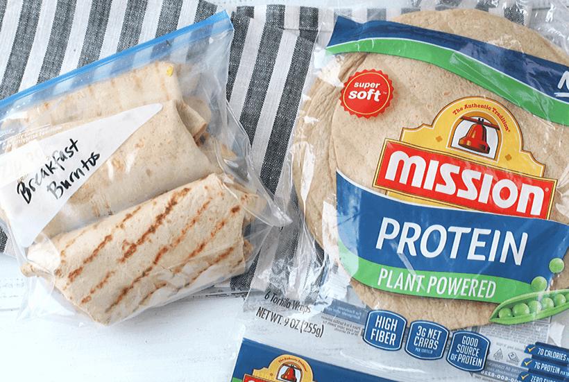 Tasty Loaded Breakfast Burritos