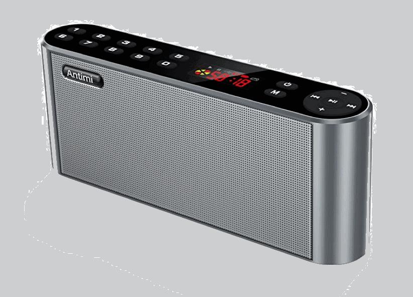 Bluetooth Lautsprecher mit Radio